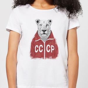 Balazs Solti CCCP Lion Women's T-Shirt - White