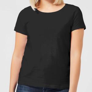 Skulls And Flowers Women's T-Shirt - Black