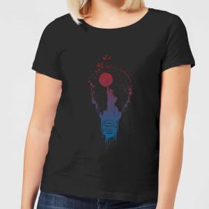 Balazs Solti NYC Moon Women's T-Shirt - Black