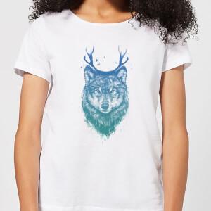Balazs Solti Wolf Women's T-Shirt - White