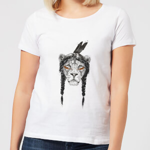 Balazs Solti Native Lion Women's T-Shirt - White