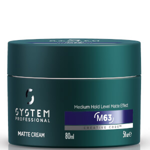 System Professional Man Matte Cream 80ml