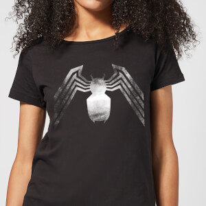 Venom Chest Emblem Women's T-Shirt - Black