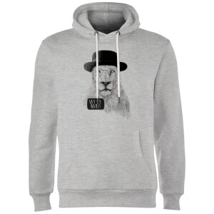 Balazs Solti Say My Name Hoodie - Grey