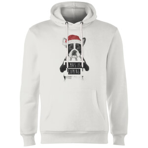 Balazs Solti Xmas Is Coming Hoodie - White