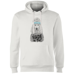 Balazs Solti Made In The 80's Hoodie - White
