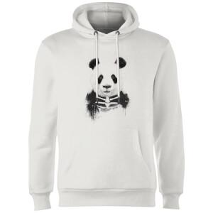 Balazs Solti Skull Panda Hoodie - White