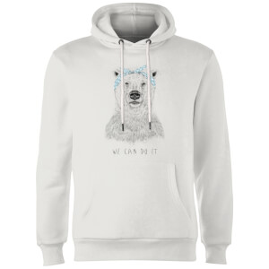 Balazs Solti We Can Do It Hoodie - White