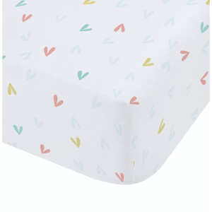 Catherine Lansfield Little Birds Fitted Sheet - Pastel