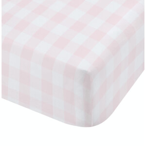 Catherine Lansfield Woodland Friends Fitted Sheet - Pink