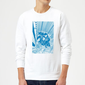 Venom Comic Panel Sweatshirt - White