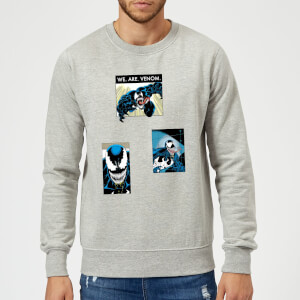 Venom Collage Sweatshirt - Grey