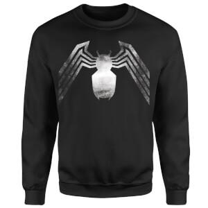 Venom Chest Emblem Sweatshirt - Black