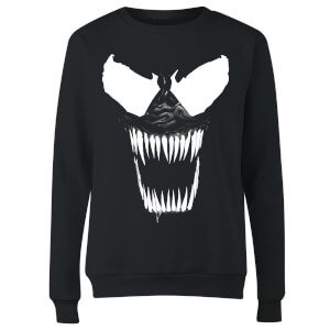 Venom Bare Teeth Women's Sweatshirt - Black