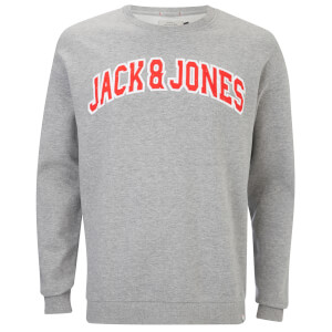 Jack & Jones Originals Men's Urbia Sweatshirt - Light Grey Marl