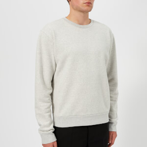 Maison Margiela Men's Elbow Patch Sweatshirt - Light Grey Melange