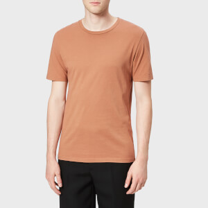 Maison Margiela Men's Garment Dyed T-Shirt - Tan