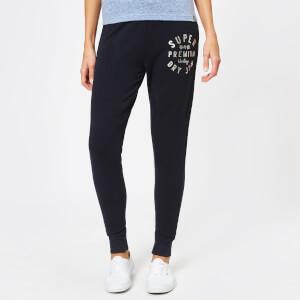 Superdry Women's Bella Loungewear Skinny Joggers - Midnight Navy Marl