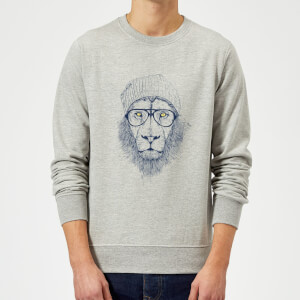Balazs Solti Lion Sweatshirt - Grey