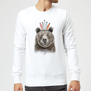 Balazs Solti Native Bear Sweatshirt - White