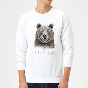 Balazs Solti Ring My Bear Sweatshirt - White