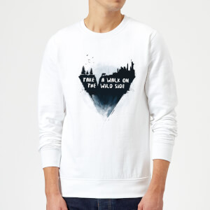 Balazs Solti Take A Walk On The Wild Side Sweatshirt - White