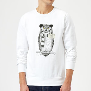 Balazs Solti It's Winter, Bitch! Sweatshirt - White