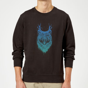 Balazs Solti Wolf Sweatshirt - Black
