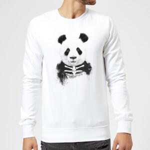 Balazs Solti Skull Panda Sweatshirt - White