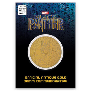 Marvels Black Panther Collector's limited edition muntstuk: antiek goud - Zavvi Exclusive (1000 stuks)