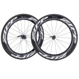 Zipp 808 Firecrest Carbon Clincher Wheelset 2019 - White - Shimano/SRAM