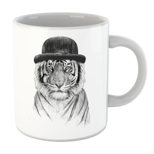 Balazs Solti Tiger In A Hat Mug