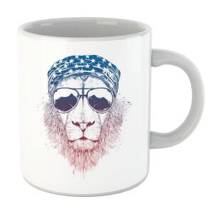 Balazs Solti Bandana Lion Mug