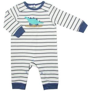 Albetta Dino Applique Babygrow - 0-3 Months
