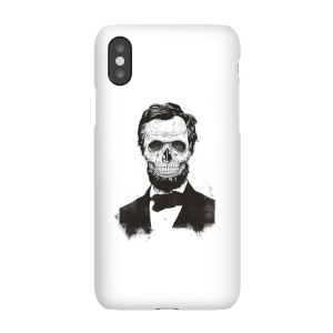 Suited And Booted Skull Phone Case for iPhone and Android