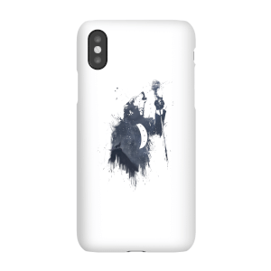 Balazs Solti Singing Wolf Phone Case for iPhone and Android