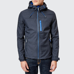 Superdry Men's Windtrekker Jacket - Moody Blue Marl/Flash Cobalt