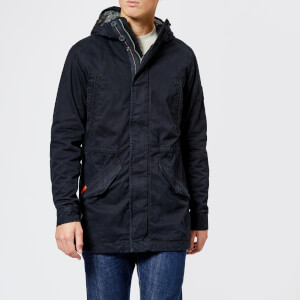 Superdry Men's New Military Rookie Parka - Super Dark Navy