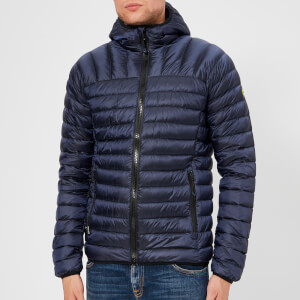 Superdry Men's Core Hooded Down Jacket - Navy