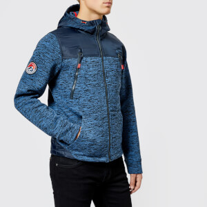 Superdry Men's Mountain Zip Hood Jacket - Indigo Navy Marl