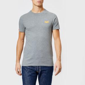 Superdry Men's Orange Label Small Logo T-Shirt - Hyper Nep Grey