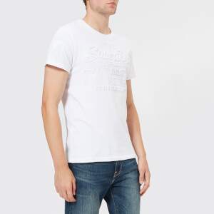 Superdry Men's Vintage Authentic Embossed T-Shirt - Optic