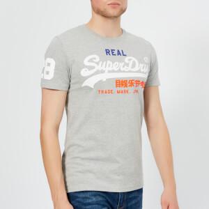 Superdry Men's Vintage Logo Tri T-Shirt - Montana Grey Grit