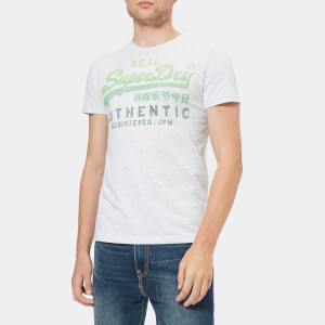 Superdry Men's Vintage Authentic Fade T-Shirt - Ice Marl