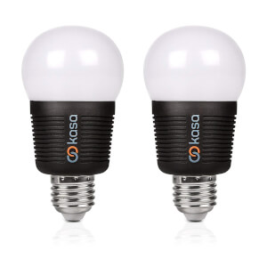 Veho Kasa Bluetooth Smart Lighting LED E27 Bulb with Free App (Twin Pack)