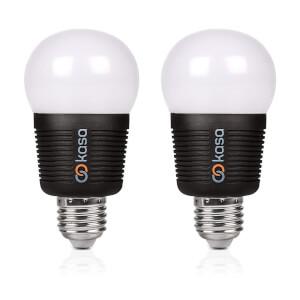 Veho Kasa Bluetooth Smart Lighting LED E27 Bulb with Free App (Twin Pack)