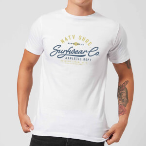 Camiseta Native Shore Athletic DEPT. - Hombre - Blanco
