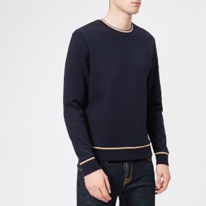 Aquascutum Men's Wallace Long Sleeve Sweatshirt - Navy