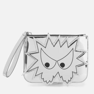 McQ Alexander McQueen Women's Medium Pouch - Silver