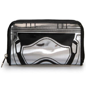Loungefly Star Wars Captain Phasma Silver Metallic Embossed Wallet